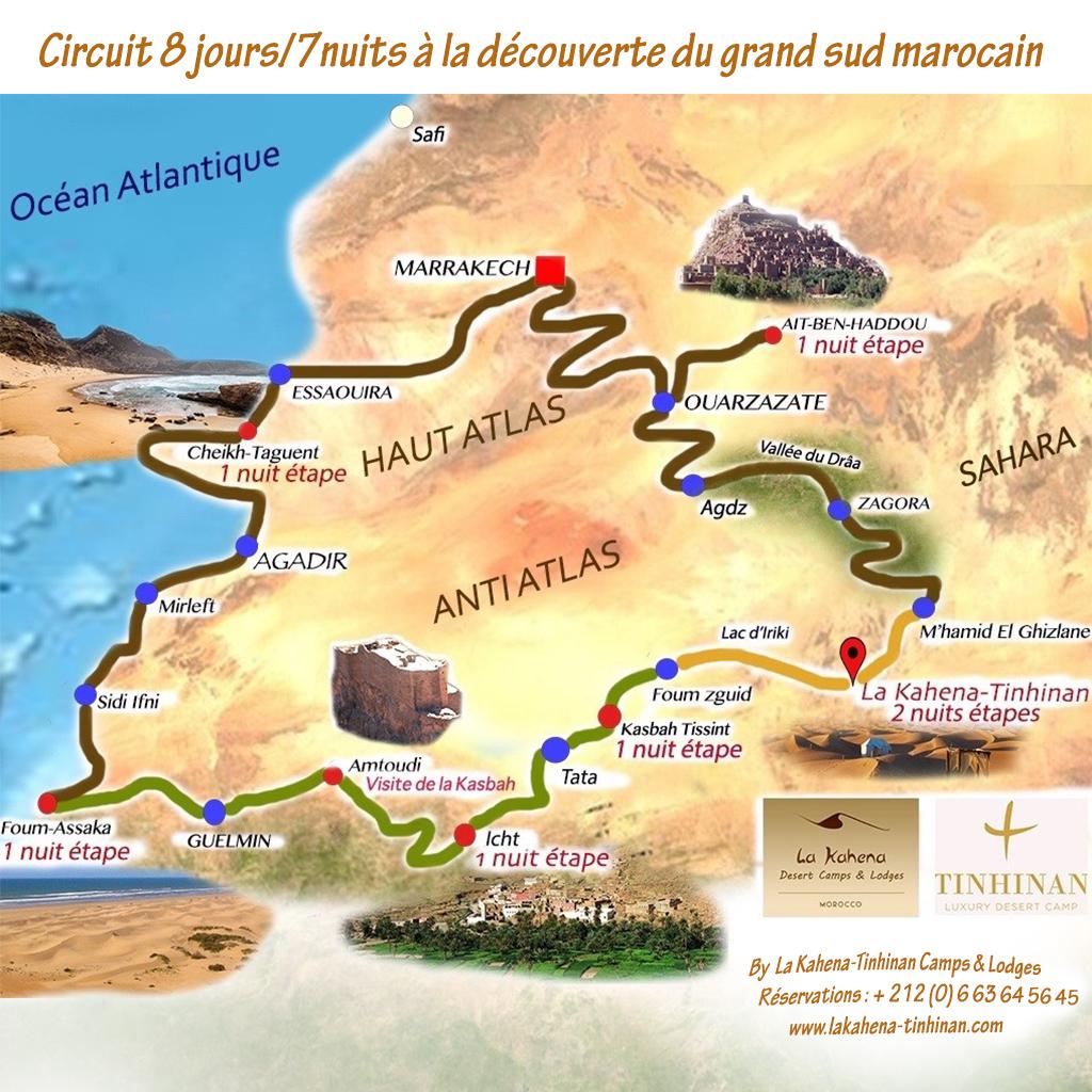Circuit culinaire 7 étapes dans le grand sud marocain