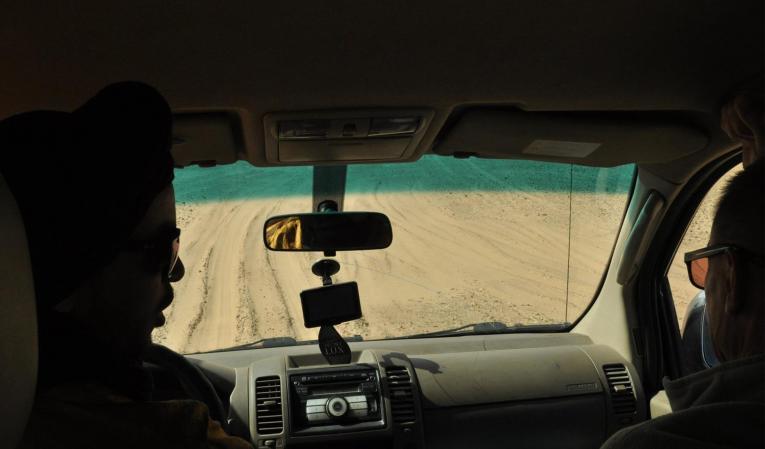 Atelier conduite sur sable