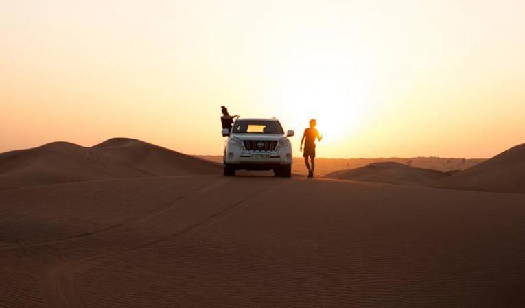 Initiation à la conduite sur le sable