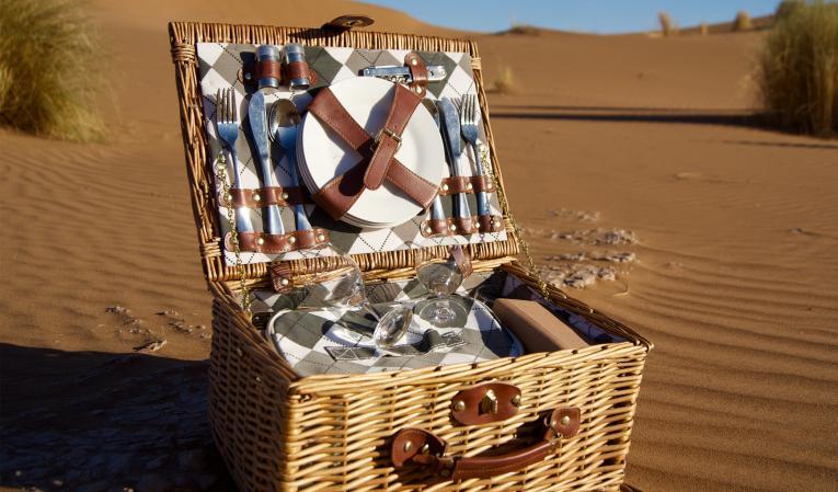 Pique-Nique en plein désert...