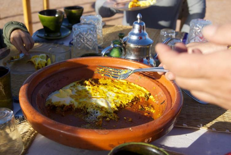 Omelette Berbère (petit déjeuner)