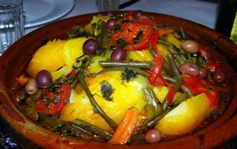 Tajine boeuf aux légumes