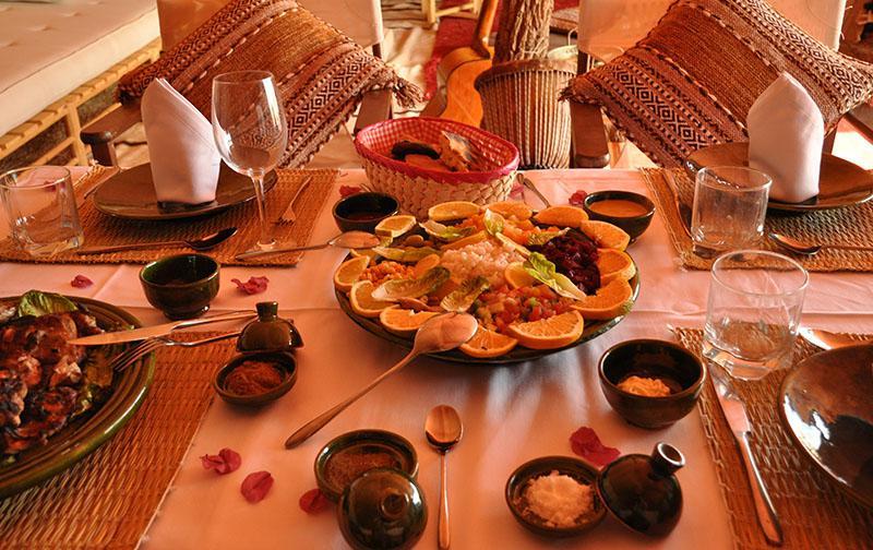 Salade variée marocaine