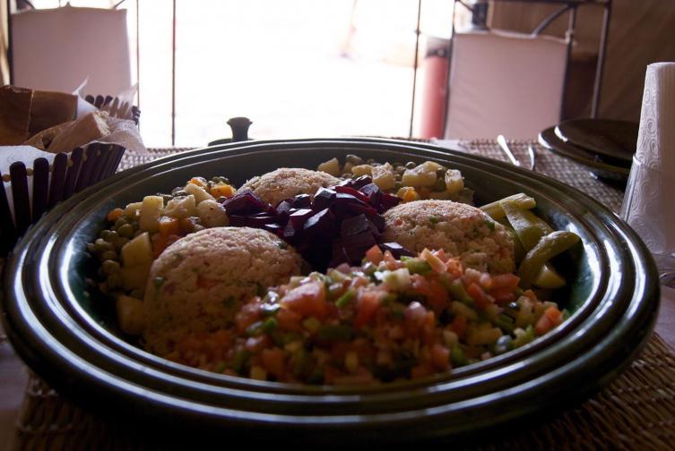 Salade Taboulé macédoine