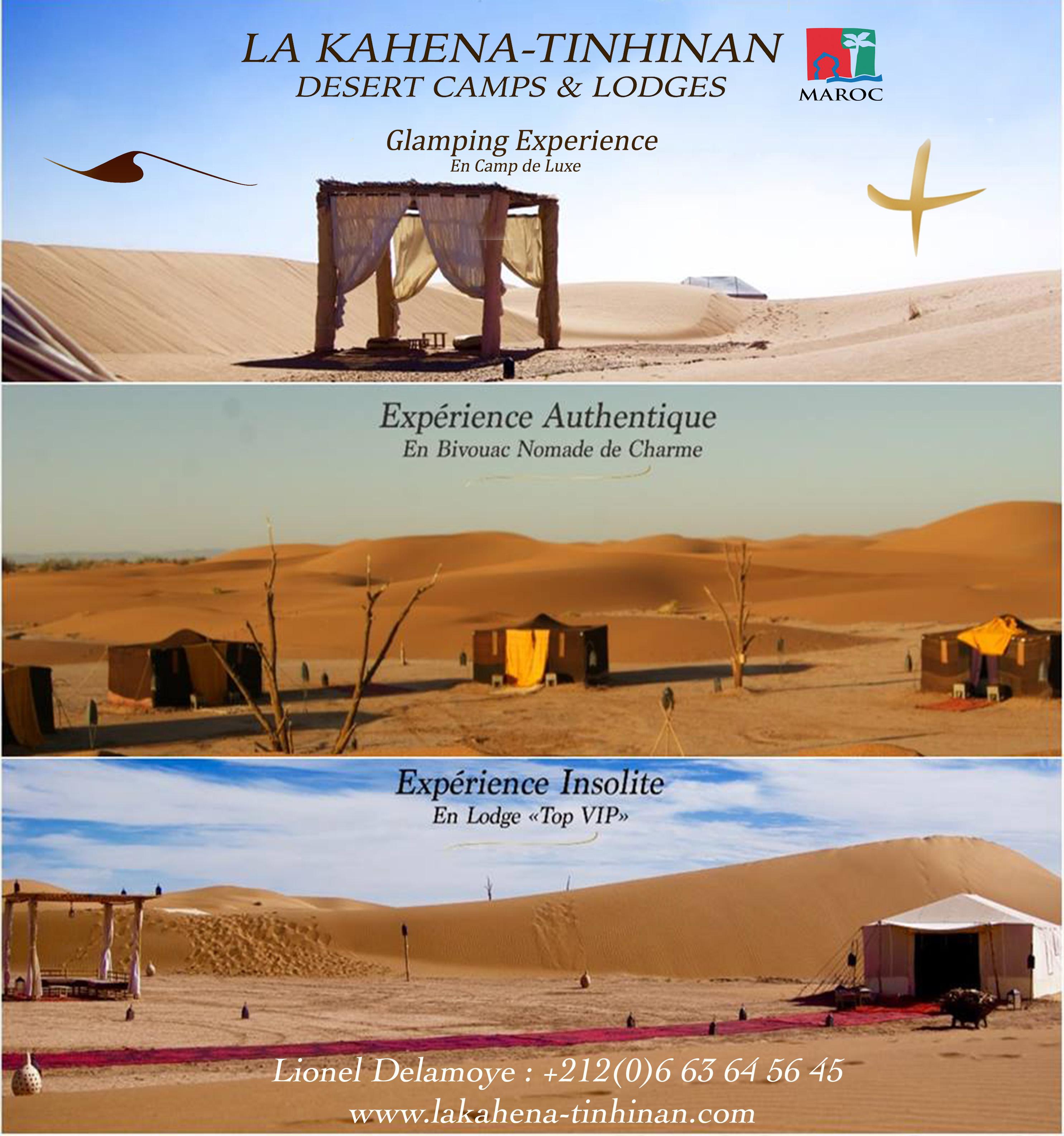 Flyer présentation des 3 Bivouacs d'exception